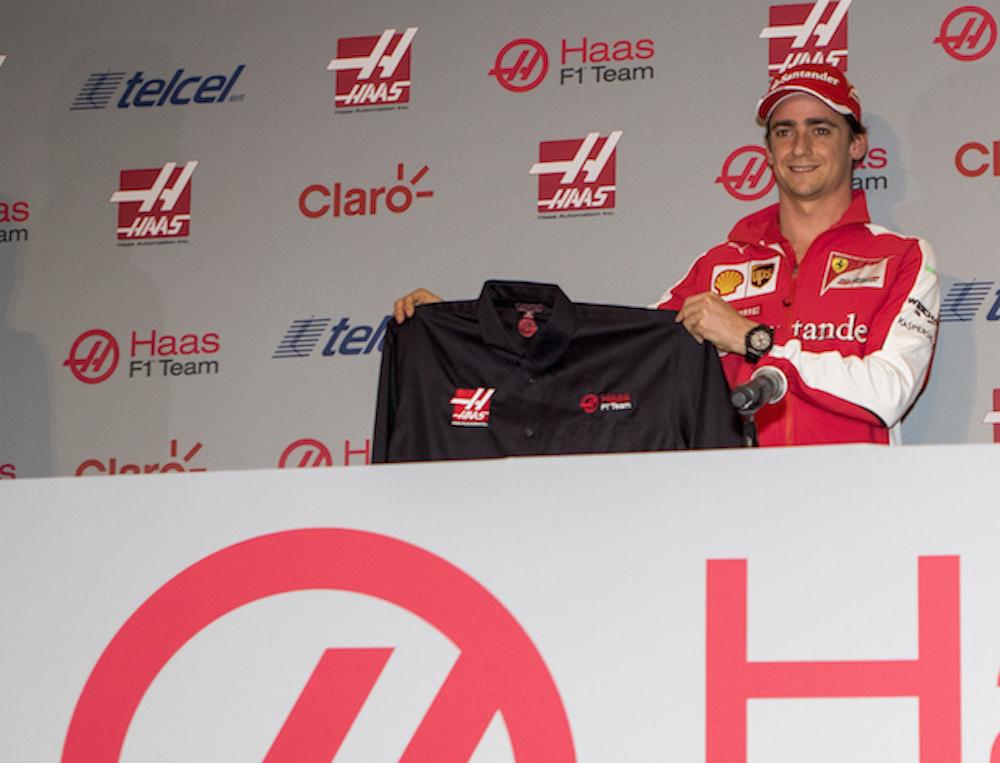 Esteban Gutiérrez probará su coche en Barcelona los días 23 y 25 de febrero