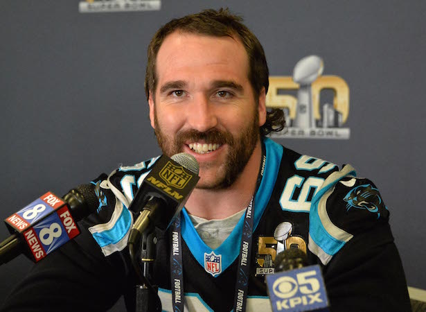 NFL: Super Bowl 50-Carolina Panthers Press Conference