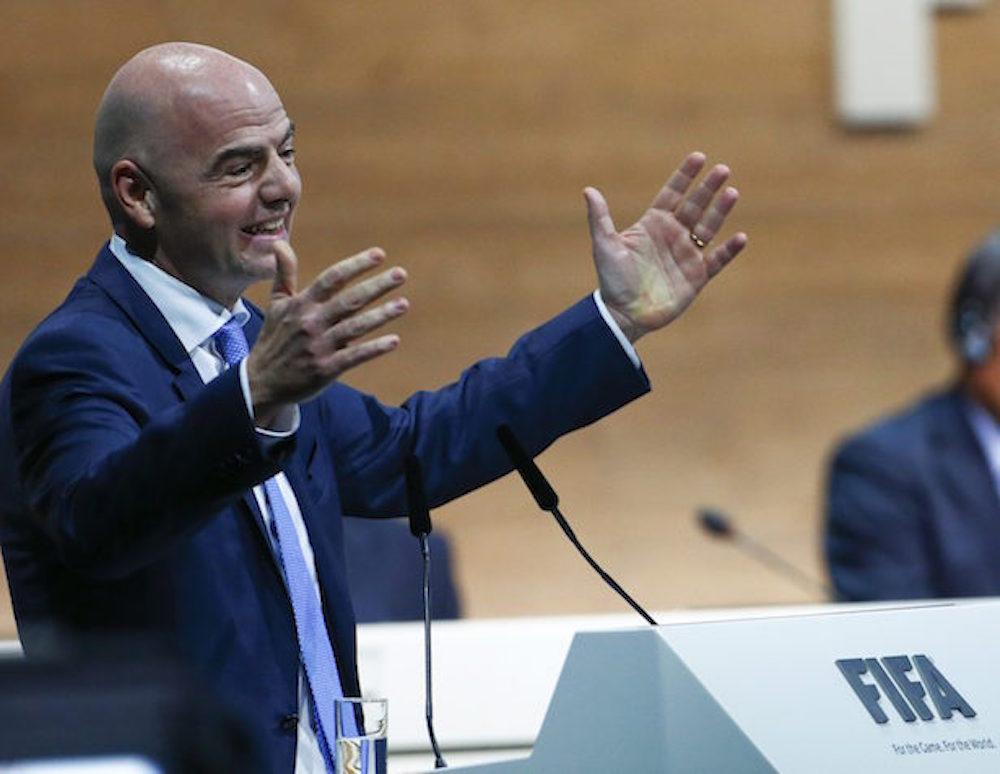 Infantino, nuevo Presidente de la FIFA