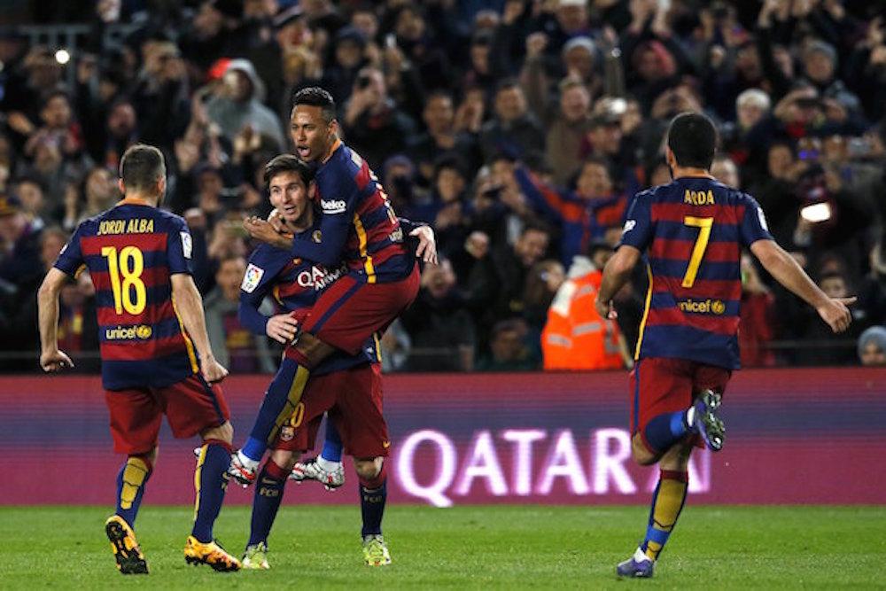 Fecha doble en la Liga española