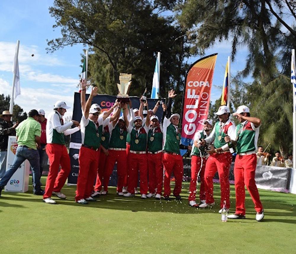 México gana la Segunda Copa de Golf Latino