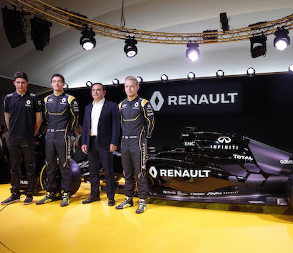 Renault presenta a Magnussen