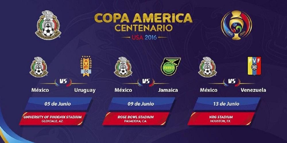Calendario de México en 1ra fase de la CA -Foto: @miseleccionmx