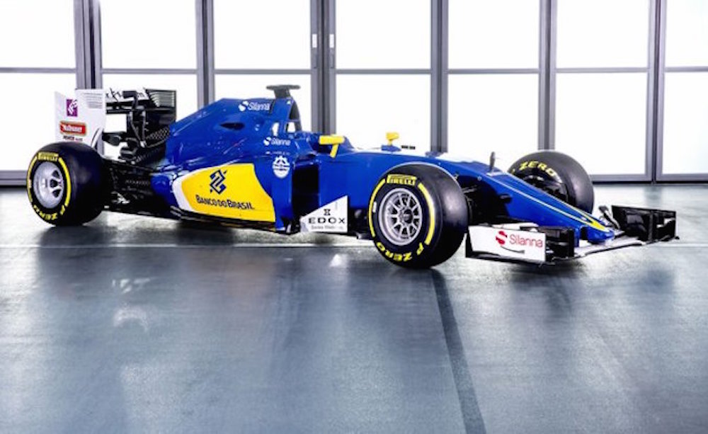 Sauber presenta su auto