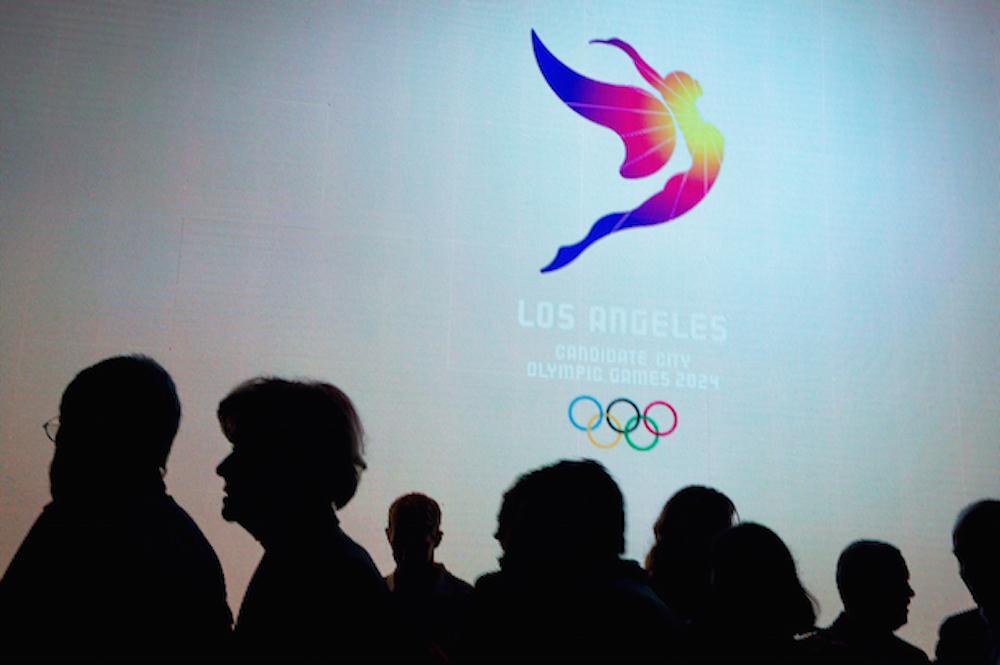 La ciudad de Los Angeles presenta su emblema para los Juegos Olímpicos de 2024