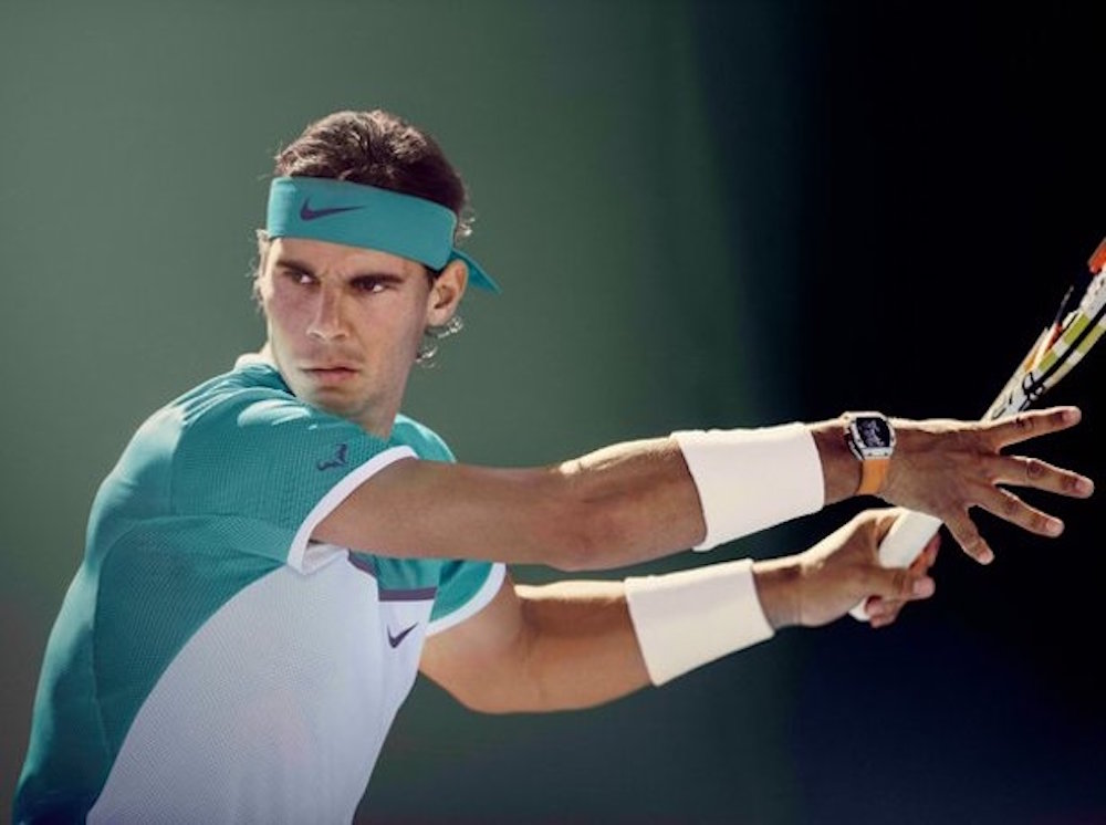 Apoyan al tenista español