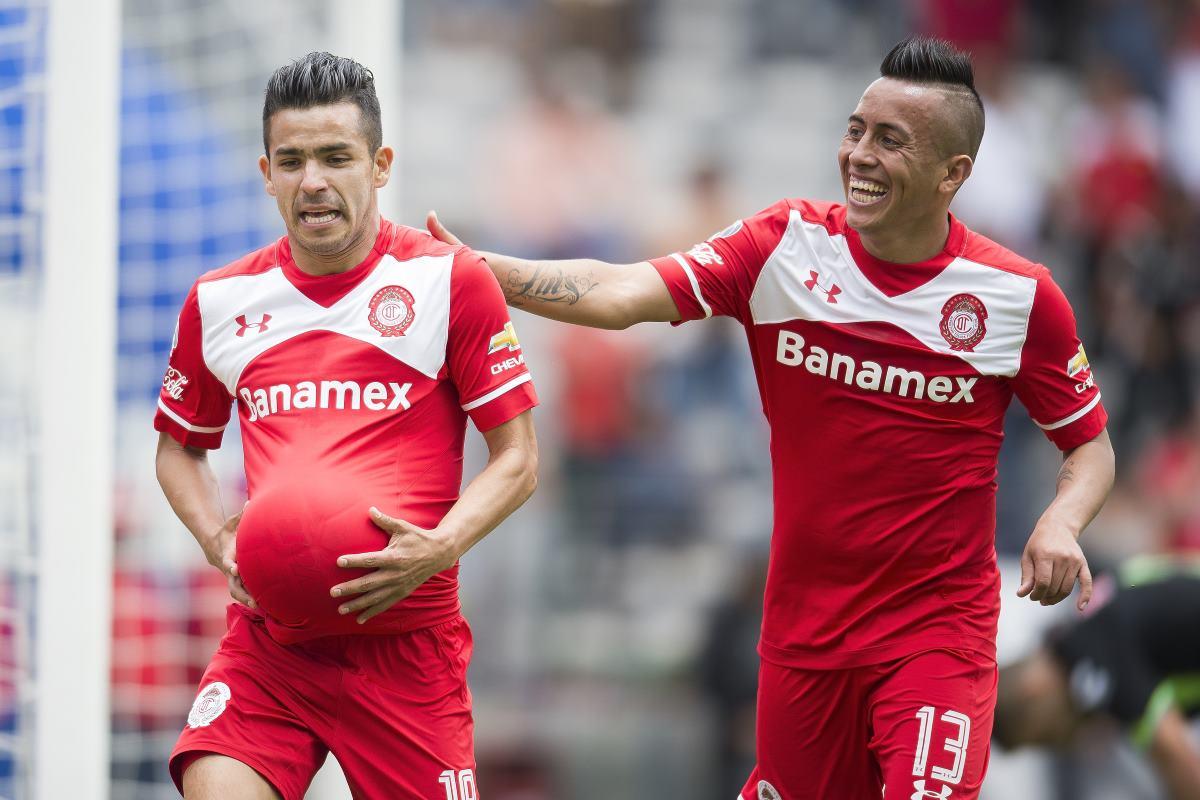 Toluca derrota 4-2 a Veracruz
