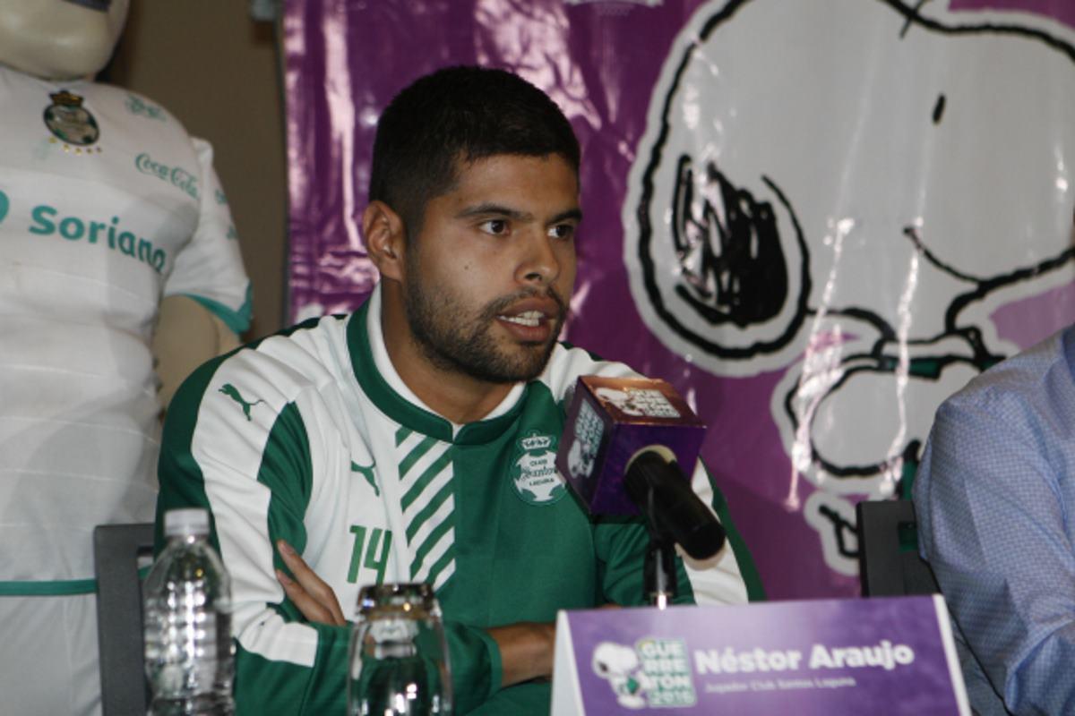 Néstor Araujo desea una final ante Cruz Azul