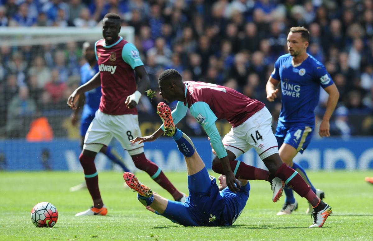 Leicester salva empate con West Ham