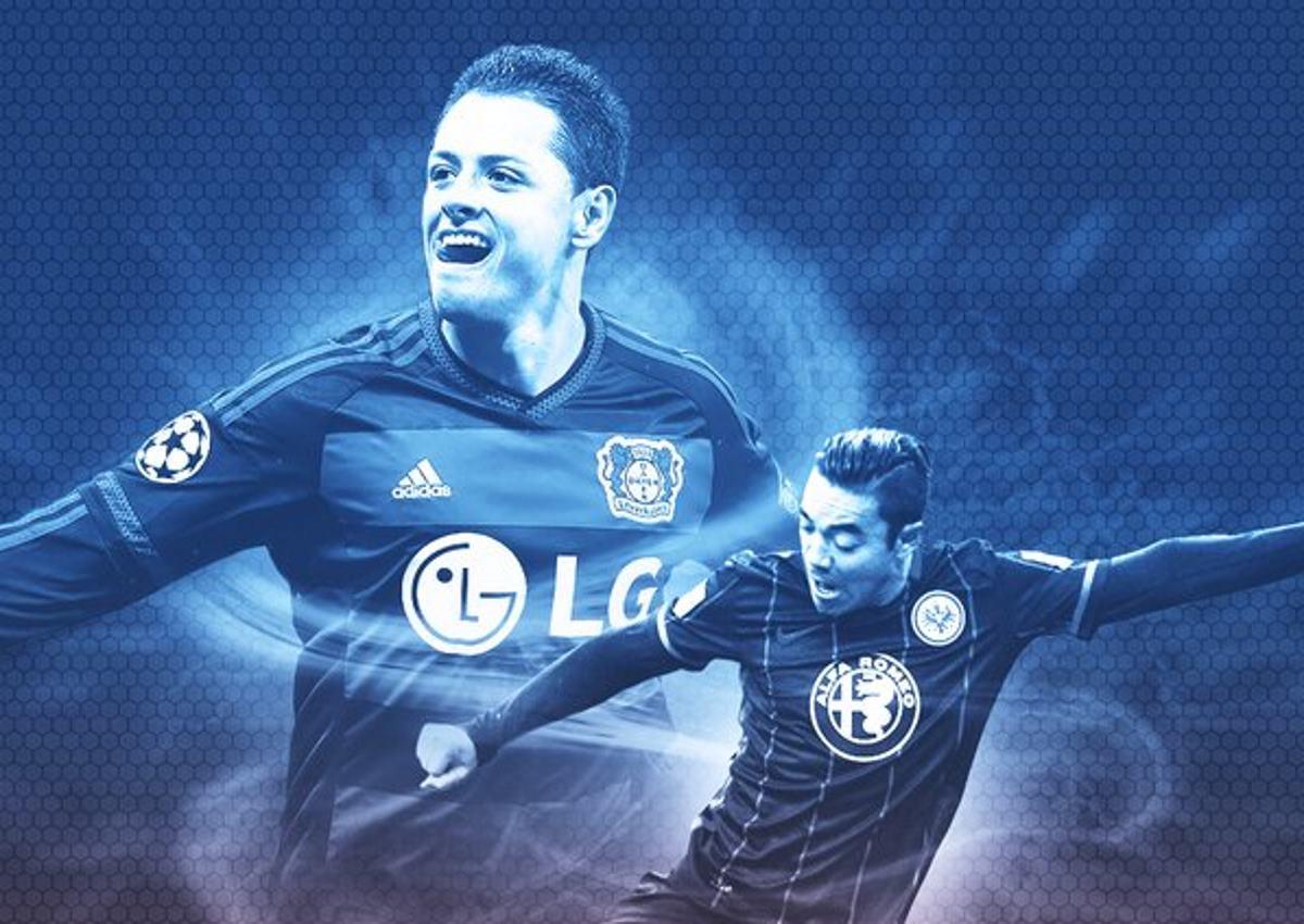 """""""Chicharito"""" y Marco Fabián encenderán Bundesliga con duelo tapatío"""