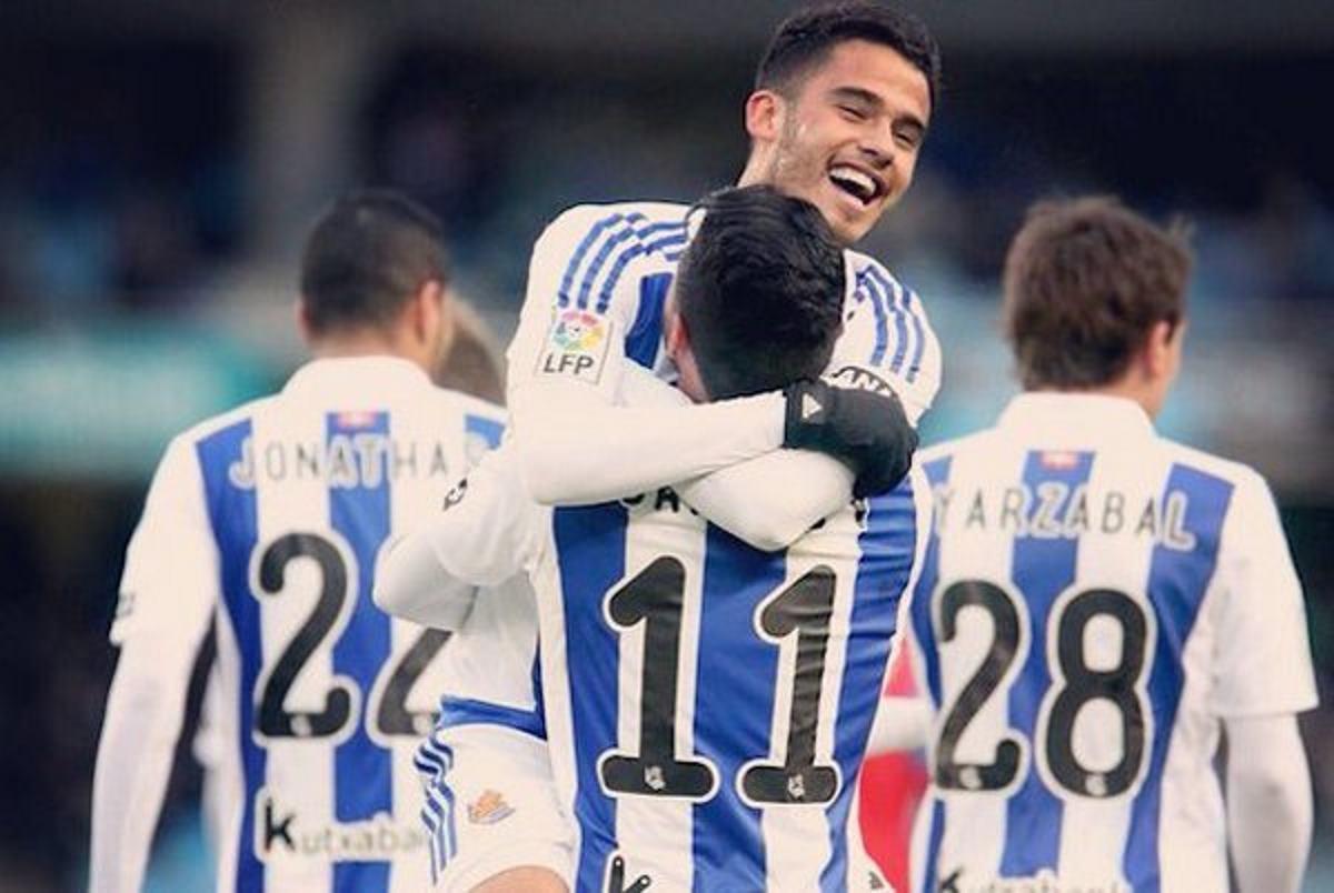 Entrenador de Real Sociedad destaca labor de Diego Reyes en temporada