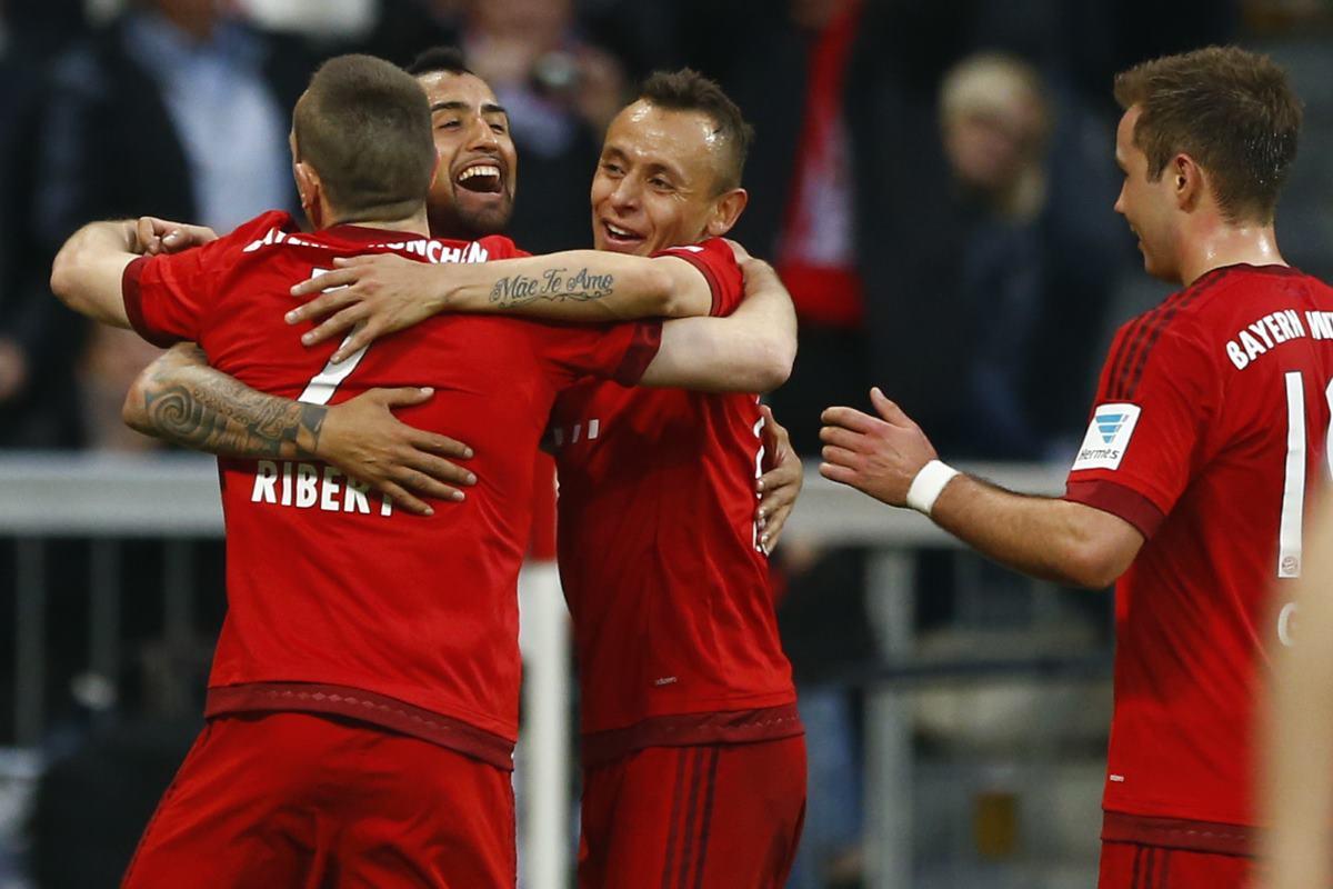Bayern cerca de coronarse en Bundesliga