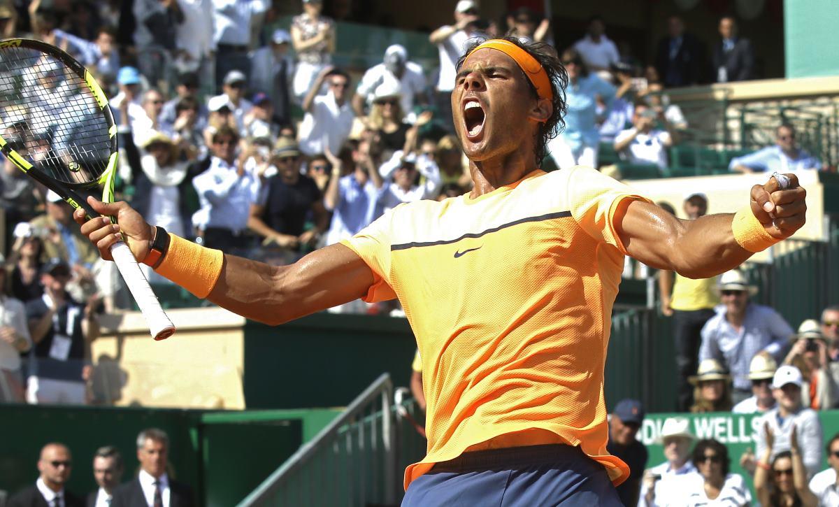 Nadal y Monfils lucharán por campeonato de Masters 1000 en Montecarlo