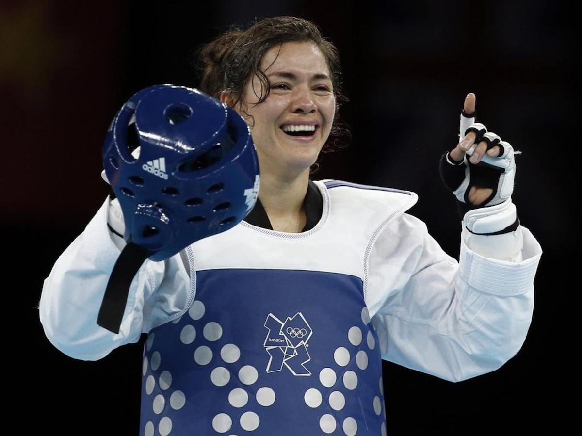 María del Rosario Espinoza, taekwondoín mexicana. Foto: Espècial