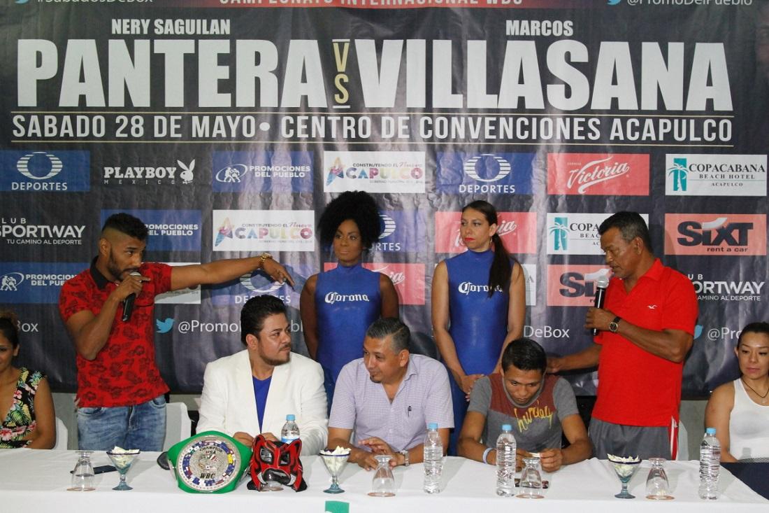Conferencia de prensa. Foto: Cortesía
