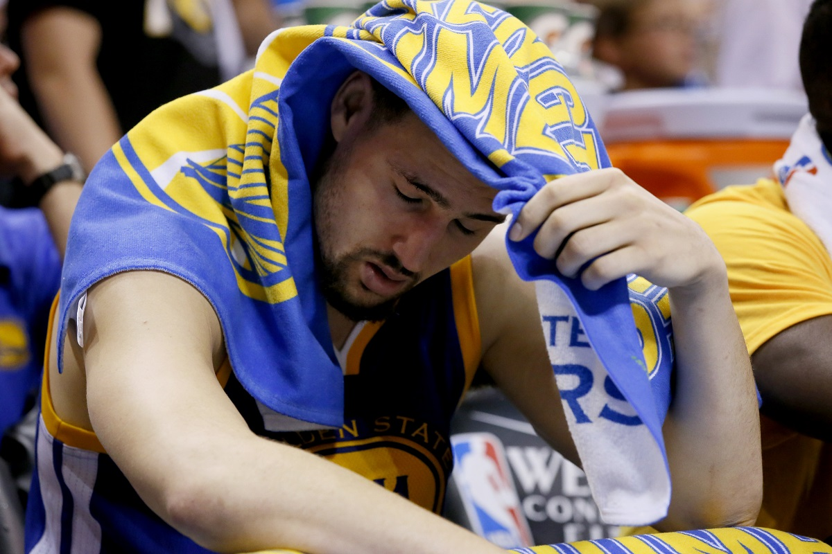 Klay Thompson. Foto: AP