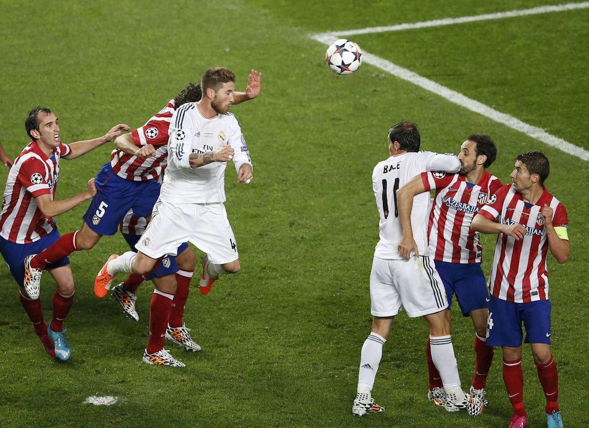El gol que inició la caída del Atleti.Foto: Especial