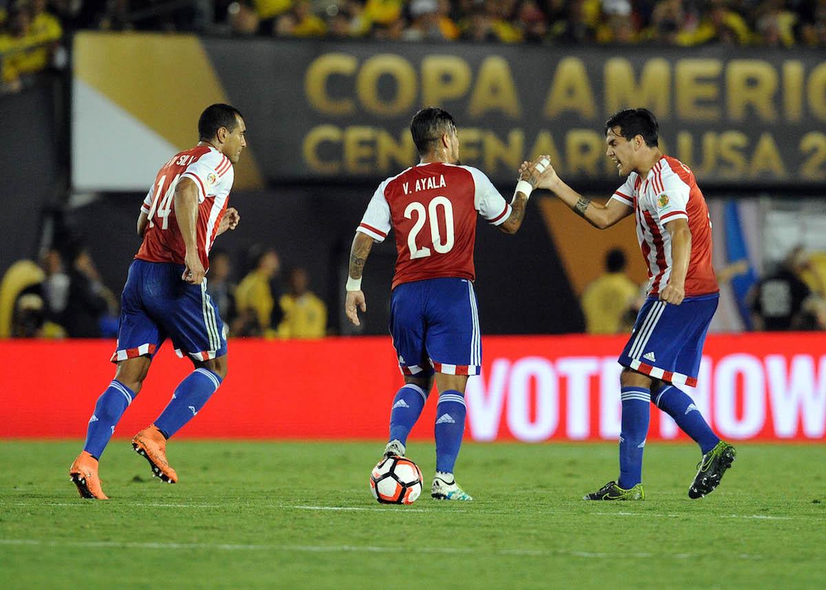 Selección d eParaguay. Foto: Reuters