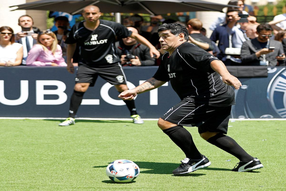 Diego Armando Maradona. Foto: Reuters