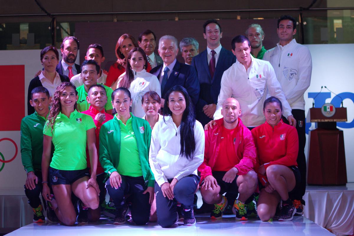 Uniformes de la delegación mexicana para Río 2016. Foto: Mexsport