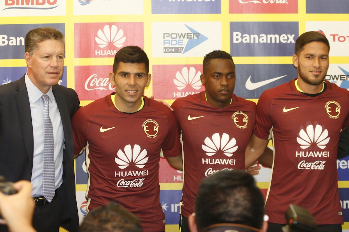 Los tres jugadores coincidieron en que llegaron al club más grande de México.