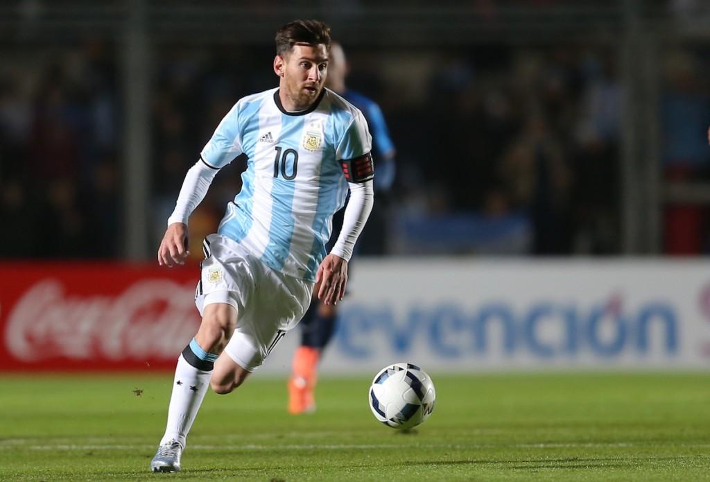 Lionel Messi, capitán d ela selección de Argentina. Foto: AP