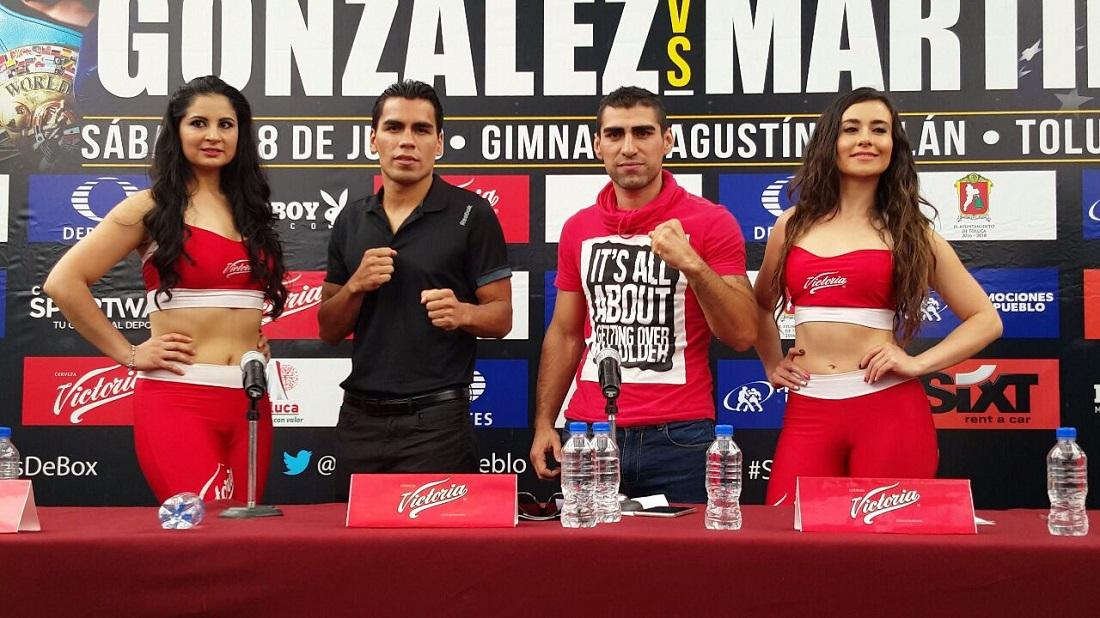 Molina y Prieto, en conferencia. Foto: Cortésía