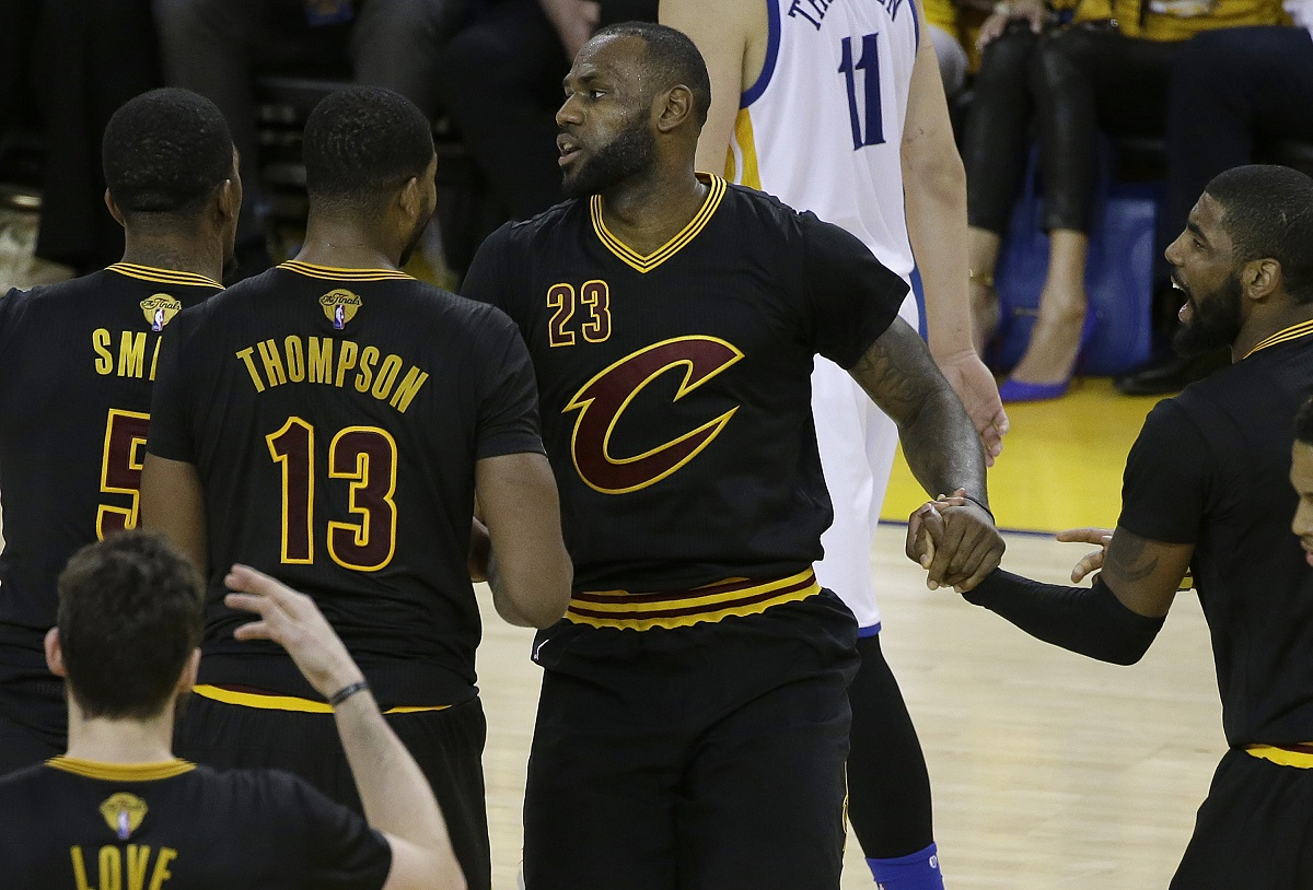LeBron James (23). Foto: AP