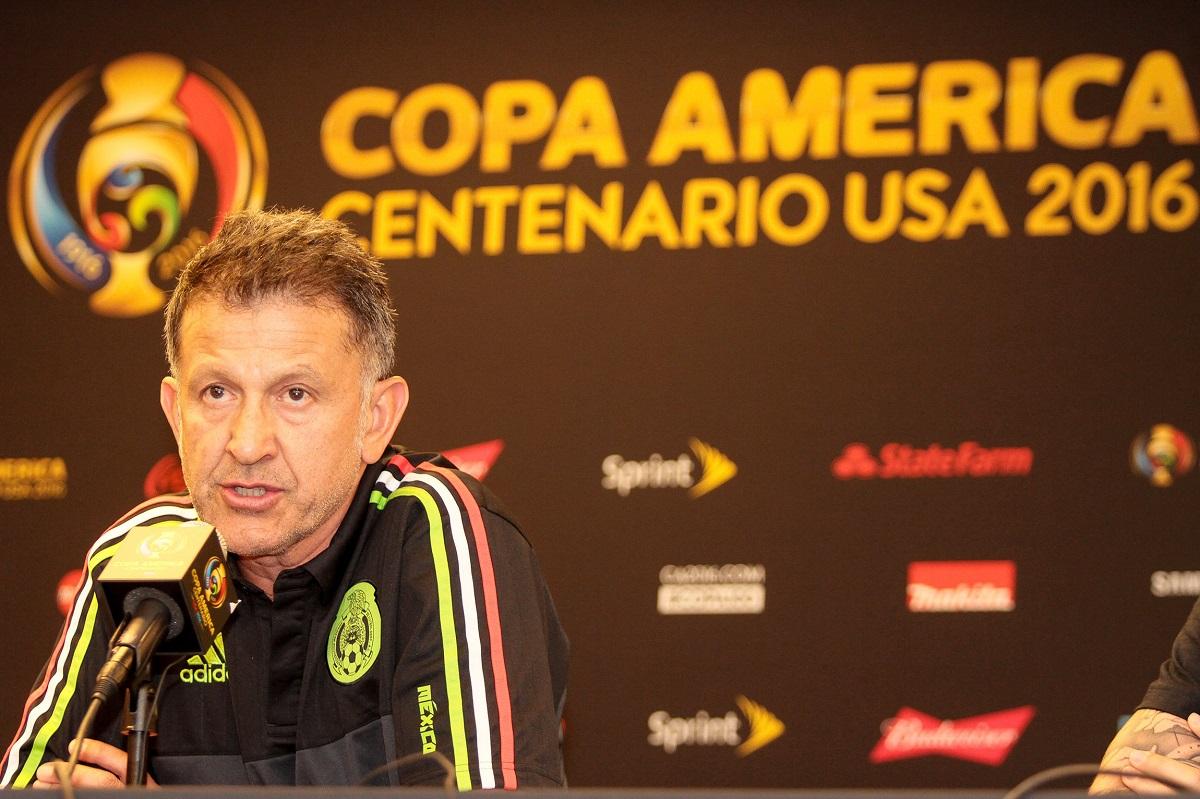 Osorio, DT del Tricolor. Foto: Notimex