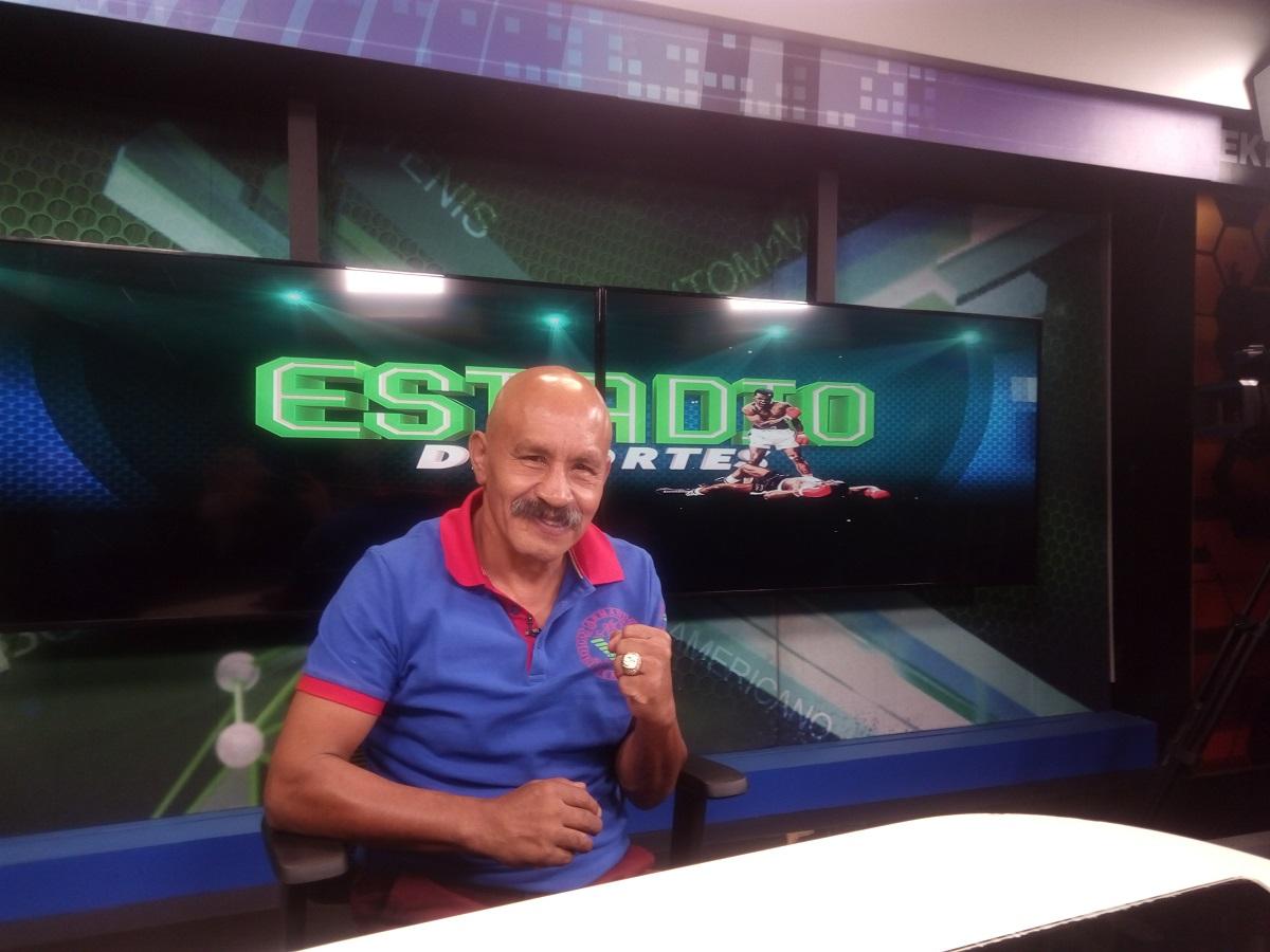 Pintor, en su visita al programa ESTADIO Deportes. Foto: Cortesía