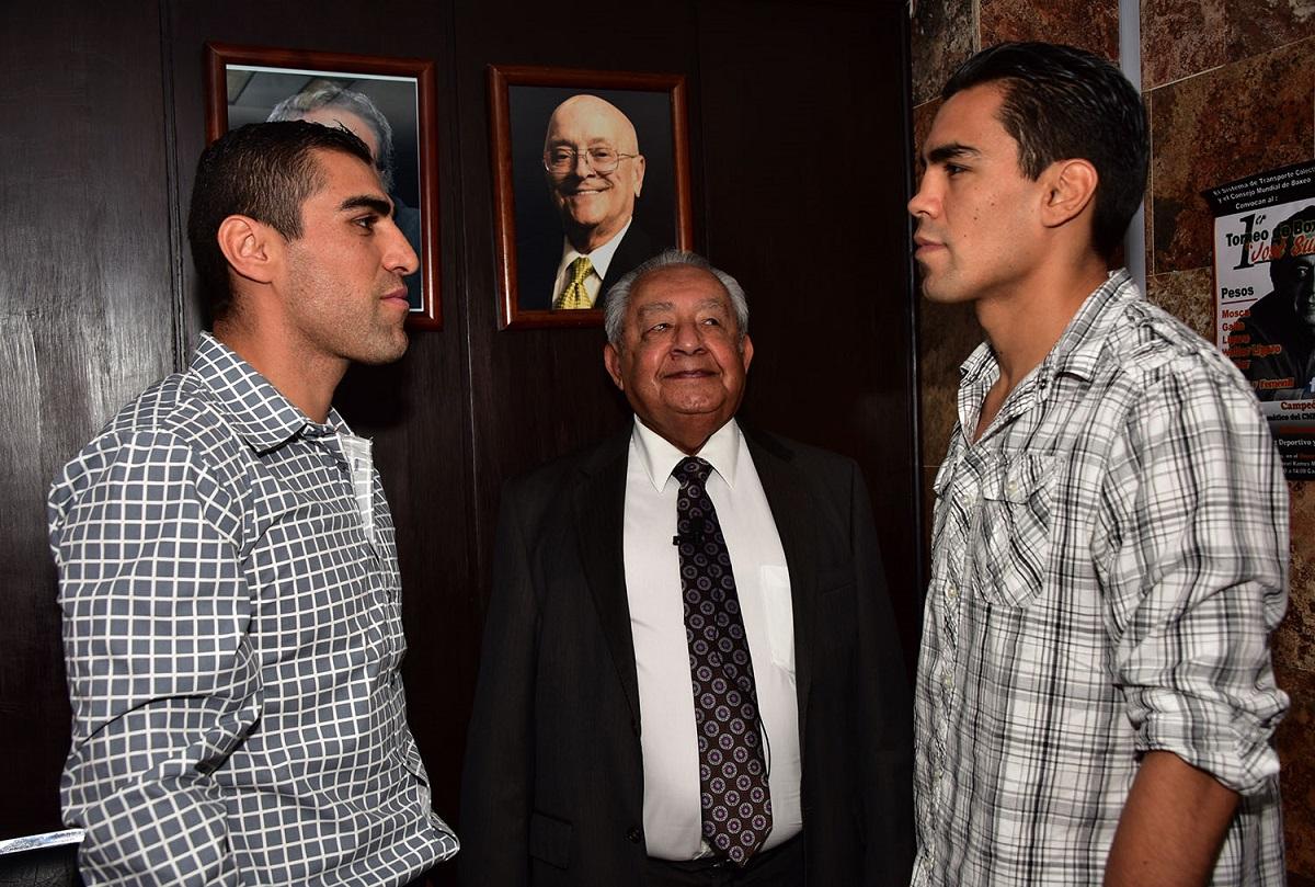 Prieto y Molina, frente a frente. Foto: Cortesía