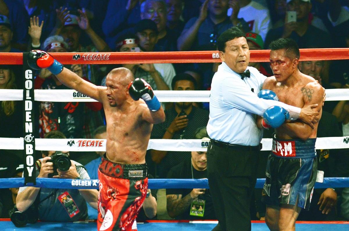 Salido y Vargas se enfrentaron en el StubHub Center. Foto: Cortesía