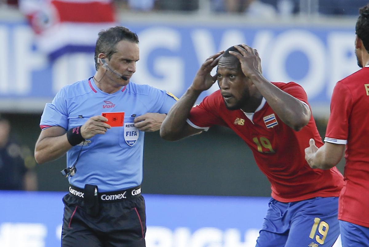 Selección d eCosta Rica. Foto: Reuters
