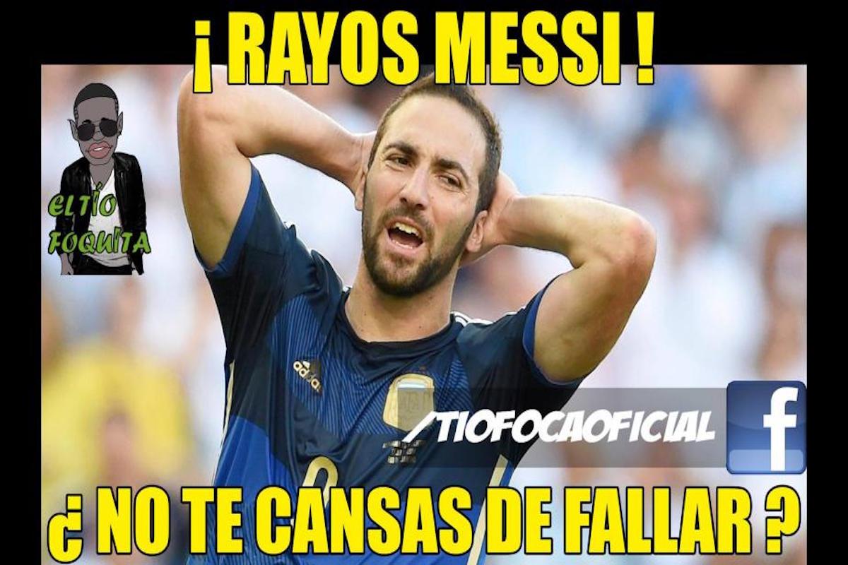Argentina y Messi pierden otra final. Imagen: Especial