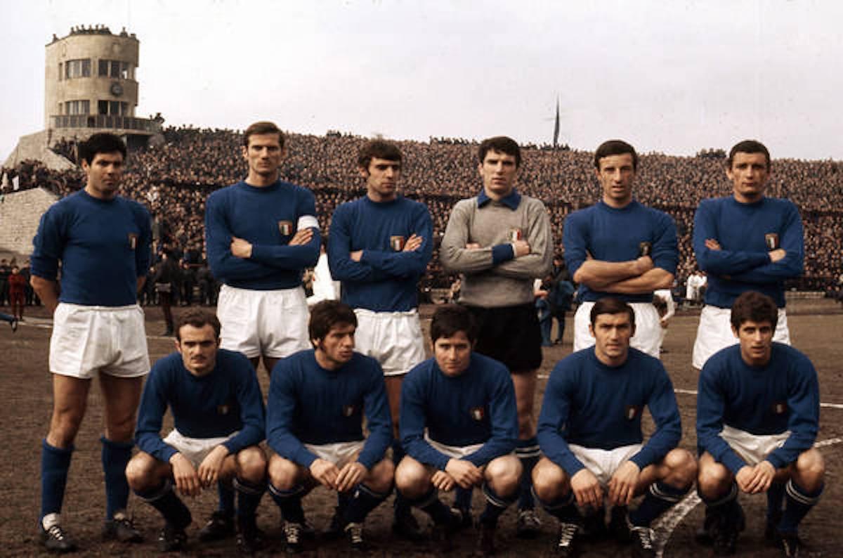 Nazionale italiana di calcio 1968