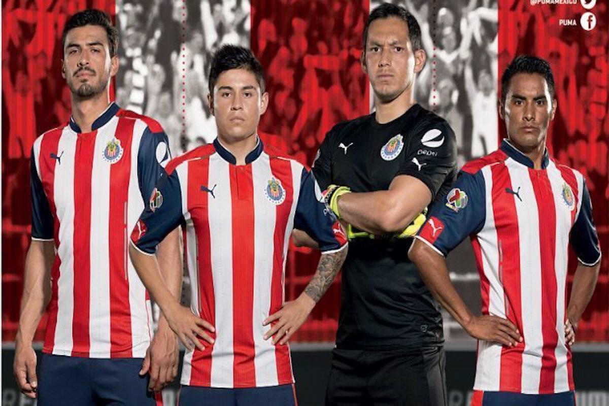 Jersey de las Chivas. Foto: Especial