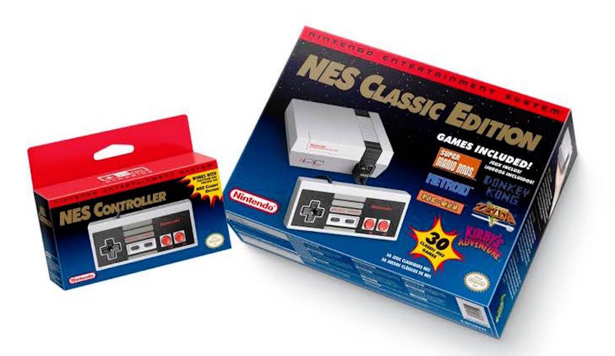 El costo del Nintendo Classic Mini será de 60 dólares en EU. Foto: Nintendo
