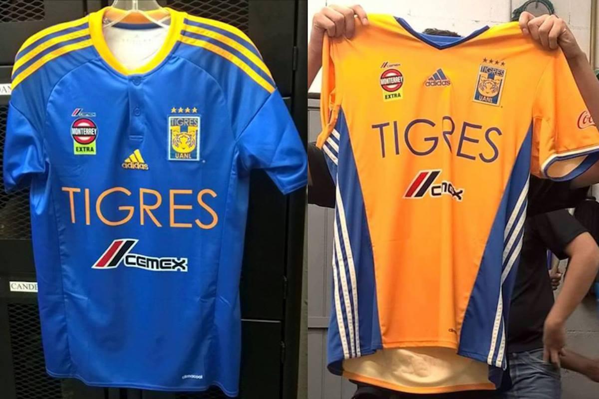 Jersey de los Tigres. Foto: Especial
