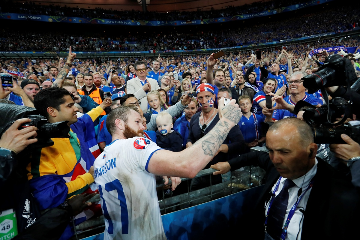 Islandia se despide de la Euro. Fotos: Reuters
