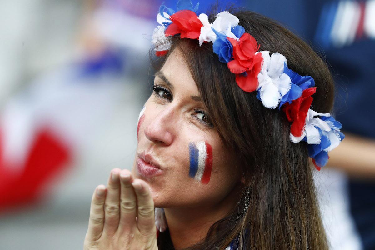 Fanáticas de la Euro Francia 2016. Foto: Reuters y AP