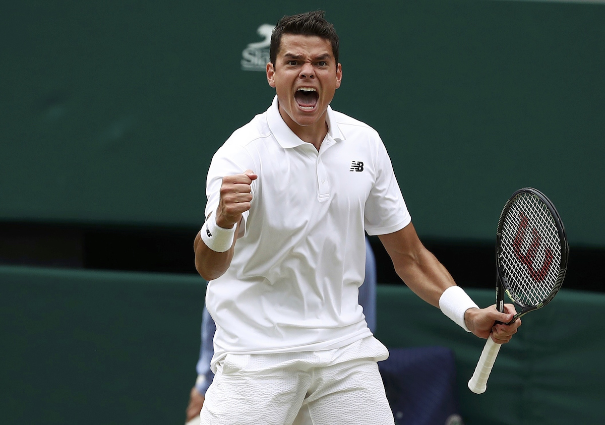 Raonic avanzó a su primera final de Grand Slam. Foto: Reuters