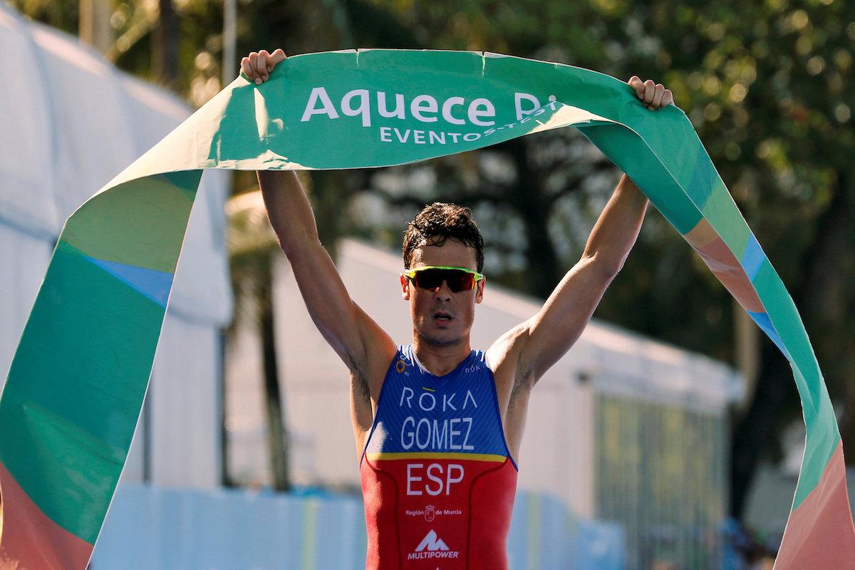Javier Gómez Noya. Foto: Reuters