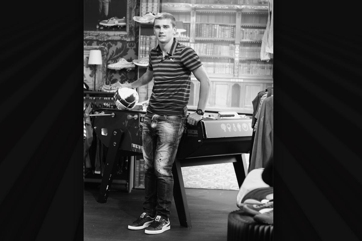 Antoine Griezmann. Foto: @AntoGriezmann