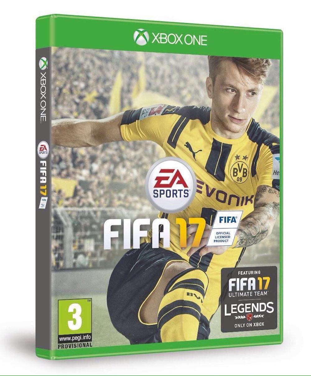 Marco Reus, nueva portada del FIFA 17. Foto: Especial