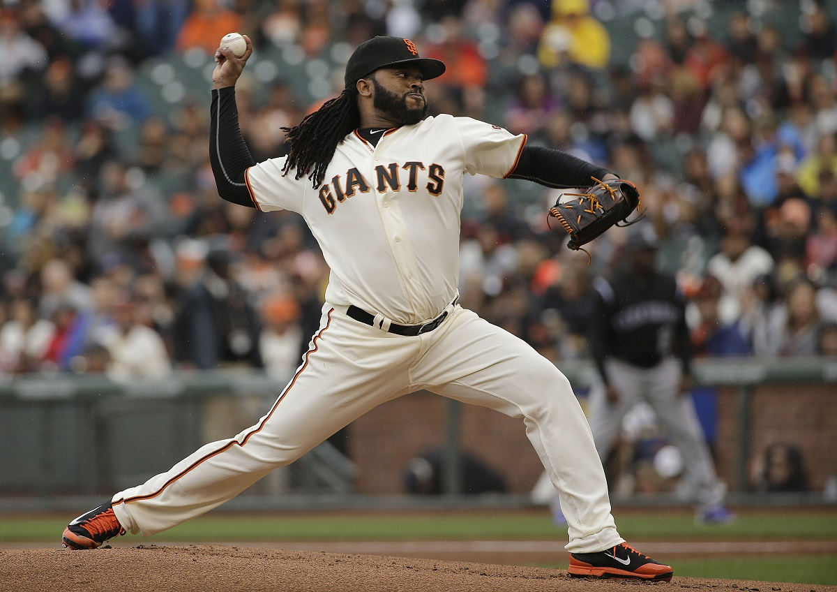 Johnny Cueto. Foto: AP