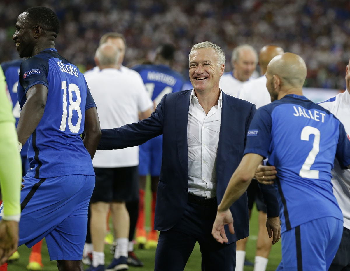 Deschamps. Foto: AP