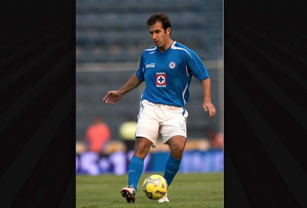 Joaquin Beltran con Cruz Azul