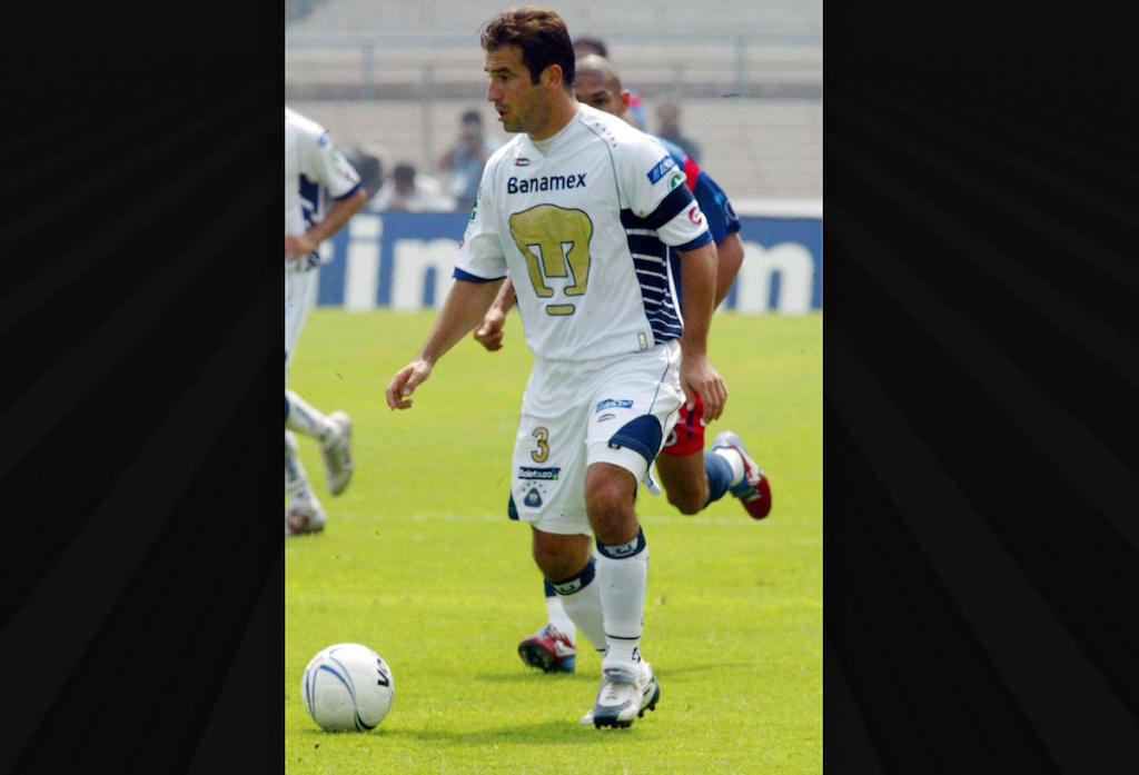 Joaquin Beltran con Pumas