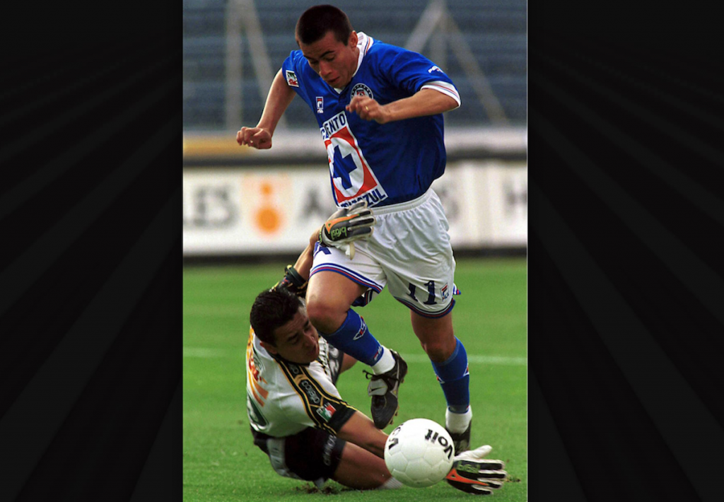 Julio Cesar Yegros con Cruz Azul