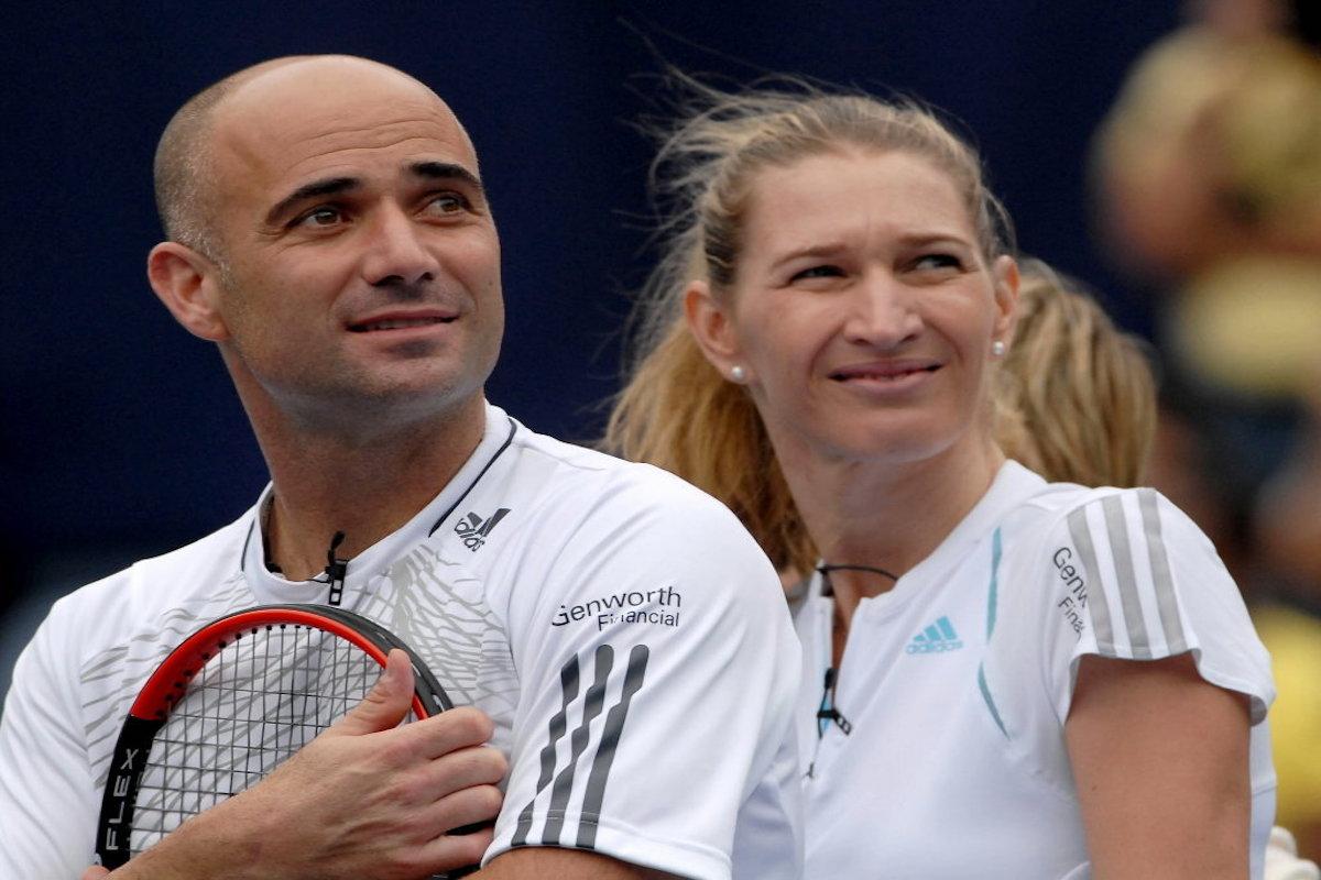 Andre Agassi (tenista) y Steffi Graf (tenista). Foto: Especial
